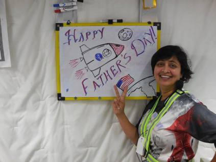 Wishing all the Dads from Outer Space!